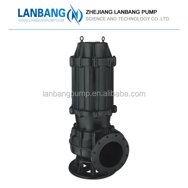 Hot Water Centrifugal 30kw Submersible Swage Pump