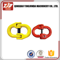 chain connecting link painting yellow or red