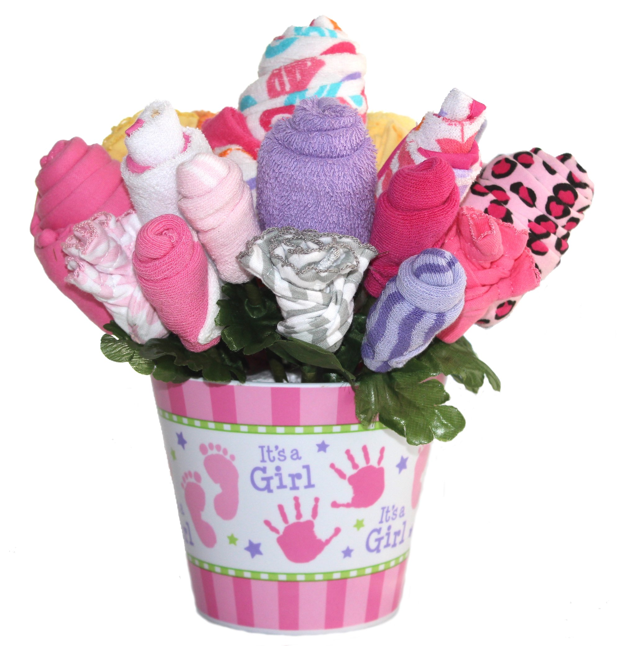 Cheap gift bouquet ideas find gift bouquet ideas deals on line at get quotations baby bouquet made with baby clothes and accessories baby shower gift practical newborn gift izmirmasajfo