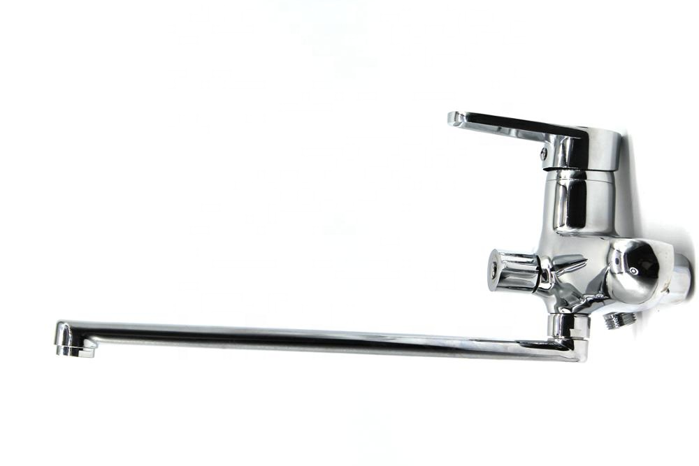 Wash Morden Brass Basin Faucet Bathroom Water Tap Sink Mixer Luxury Faucet Chrome Single Handle