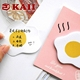 KAII Cute Breakfast Food Shape Sticky Notes Doughnut, Onigiri, Egg, Toast Shape Memo Pad Paper Office Self-Stick Notes