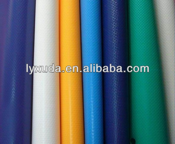 China Supplier/Crystal Clear Pvc Tarpaulin/Material