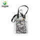 women transparent plastic pvc handbag with inner makeup bag