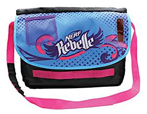 Nerf Rebelle Secrets and Spies Messenger Bag with Secrete Message Decoder