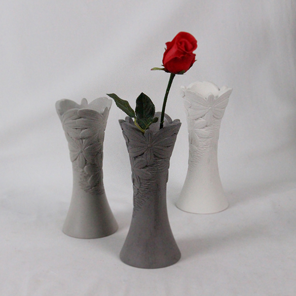 Beton Vase cement home decoration beton flower vase painting designs