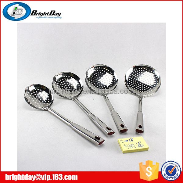 Acero inoxidable colador cuchara utensilios de cocina for Utensilios cocina acero inoxidable