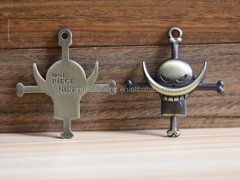Super quality customized hat metal cord tag