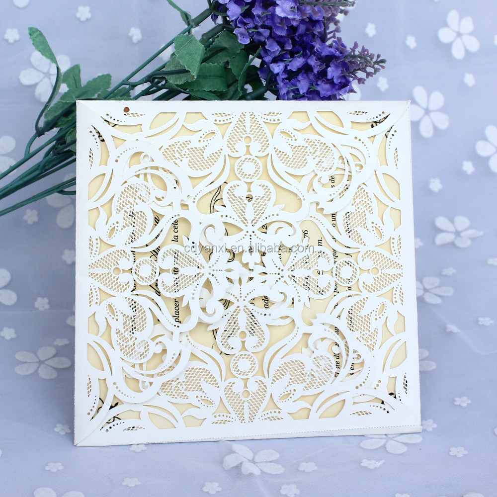 English Luxury Wedding Invitation Cards 2018 Handmade Anniversary