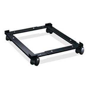 "Lorell 17573 File Caddy, Adjustable, 11-3/8""x16-5/8 x4, Black"