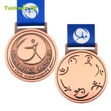 Souvenir 1st 2st 3st sports gold trophy metal custom sport medal
