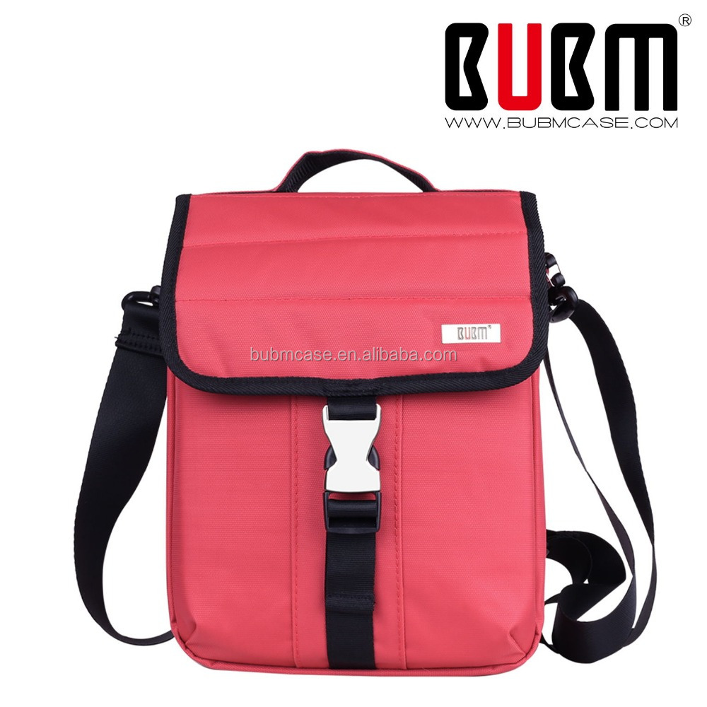 New FASHION BUBN Women 10 inches 1200D Nylon Red Tablet PC Laptop sleeve for ipad