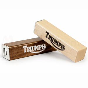 promotional gifts diy portable usb power bank charger wooden powerbanks 2200mah 2600mah with custom logo print