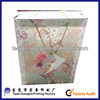offset 4 color printing gift paperbox custom paper bag