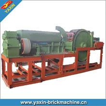 India Clay Logo Brick Machine Rotary Logo Brick Making Machine for Small Brick Plant