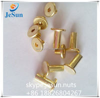 Dongguan facatory manufacture high quality brass tubular rivets