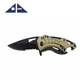 New Outdoor Combat Camping Tactical Military Folding Hunting Survival Knife