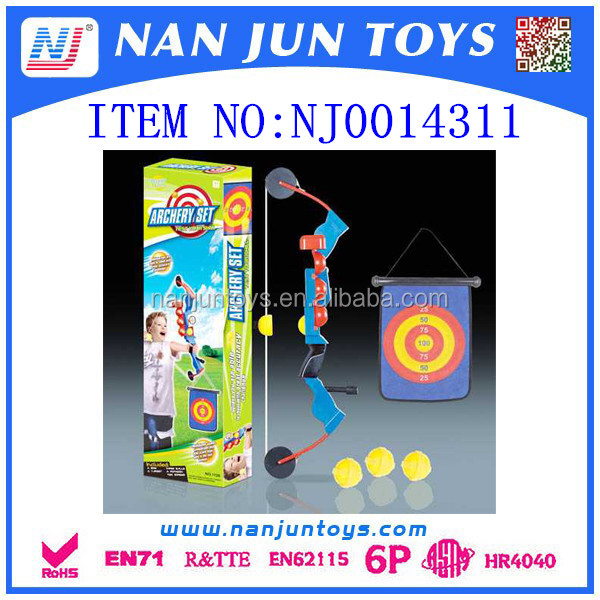 2017 news item Children playing toy archery bow set
