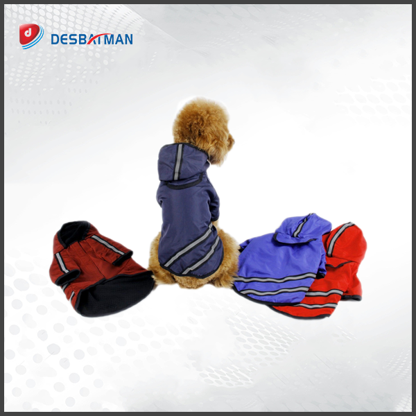 Reflective Pet Dog Raincoat Waterproof Clothes Jacket Cape for Puppy