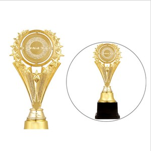 Wholesale factory metal award sport star medal trophy with customized inscription