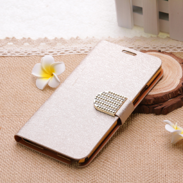 diamond phone cover leather flip case for samsung galaxy e7