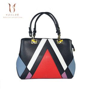 2018 OEM new design china wholesale Leisure bags PU   Polyester women  handbags ec510212f5c3d