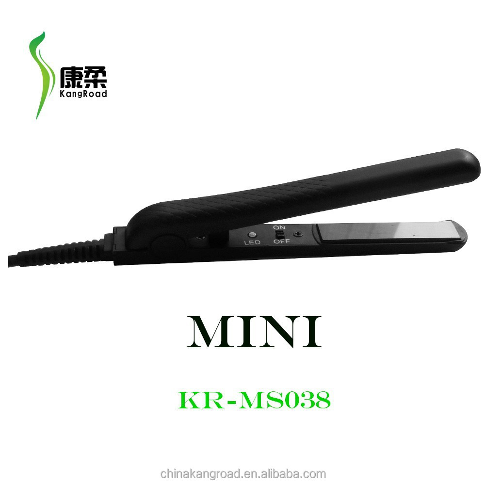 New Arrival Mini Electric Flat Iron Hair Straightener