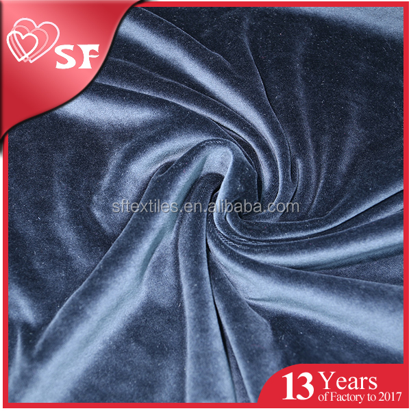 China supplier wholesale new design velvet sofa fabric blackout silk velvet fabric for curtain