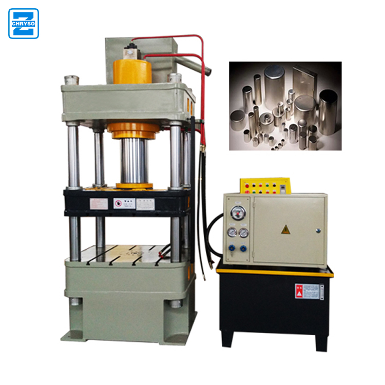 200 Ton hydraulic heat press machine | wood sawdust cork plug machine