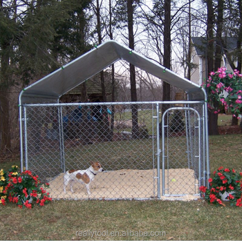 Large Dog Cage Outdoor Metal Pet Kennel For 2mx2mx1 2m Animal Cages