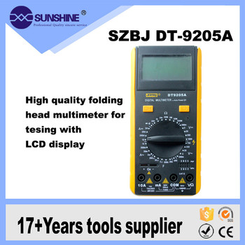 Low Price Portable Digital Display Multimeter Dt9205a For Electrical  Maintenance - Buy Multimeter Digital,Low Price Digital Multimeter,Digital