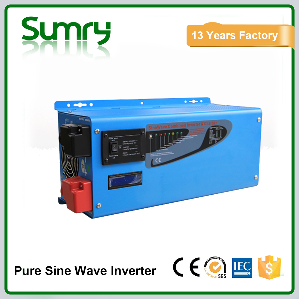 Low frequency 12 volt 220 volt 1000watts 2000watts 3000w inverter solar power with charger