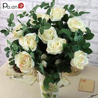 Simulation rose decoration crafts wholesale silk artificial flowers