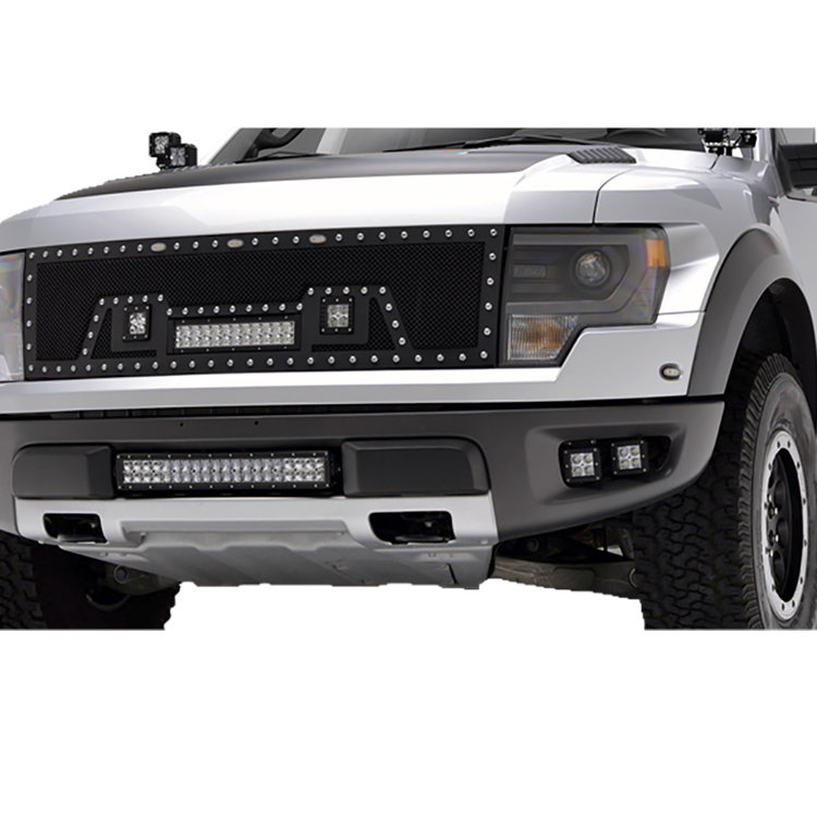 Dual Row LED Light Bar Offroad Use Only F150 or Renault Duster Front Grille