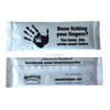 skin care product hand cleaning wipe