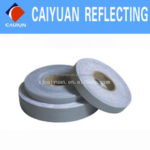 CY Stretch Reflective Fabric Elastic Tape Safety Silver in Stock