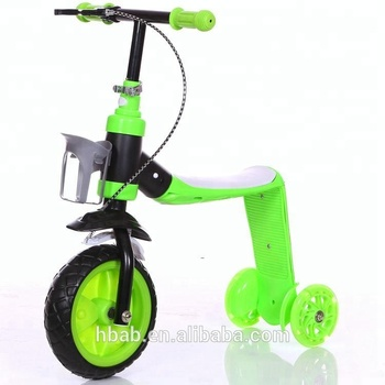 china supply self-balancing kids kick scooter with 3 wheel for china factory hot sale .