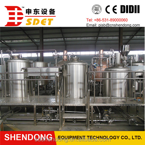 SDET 5BBL New Condition and Alcohol Processing Types beer brewing equipment