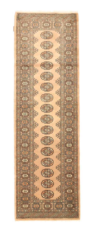 "Pakistan Bokhara 2ply rug 2'8""x8'1"" (81x246 cm) Oriental, Runner Carpet"