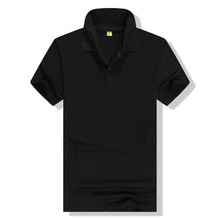 2016 The cheapest hotsale Thailand black polo t shirt with stock