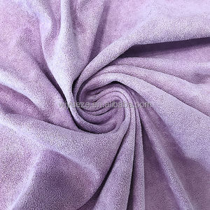 100 polyester suede fabric for home textile