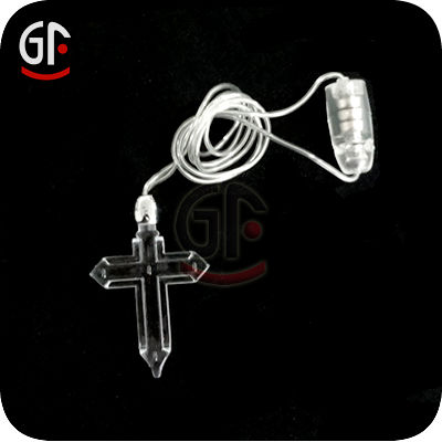 Promotional Gifts Popular Novelty Pendant Led Holiday Necklace