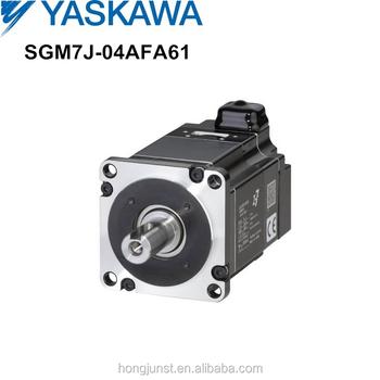 Yaskawa 400w Ac Servo Motor Sgm7j 04afa61 For Wide Range