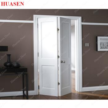 Internal Veneer Paint Grade Bi Folding Door With Plywood Buy Paint