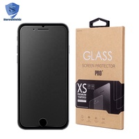 Manufacture High Quality 0.26mm Ultra Thin Tempered Glass Screen Protector For iPhone 8 Plus With Premium Glass/AB Glue Material