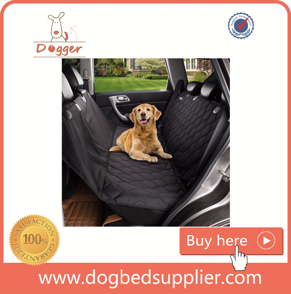 manufacturer wholesale For amazon and ebay store Quilted Pet Dog Cat Car Back Seat Travel Cover Waterproof Hammock