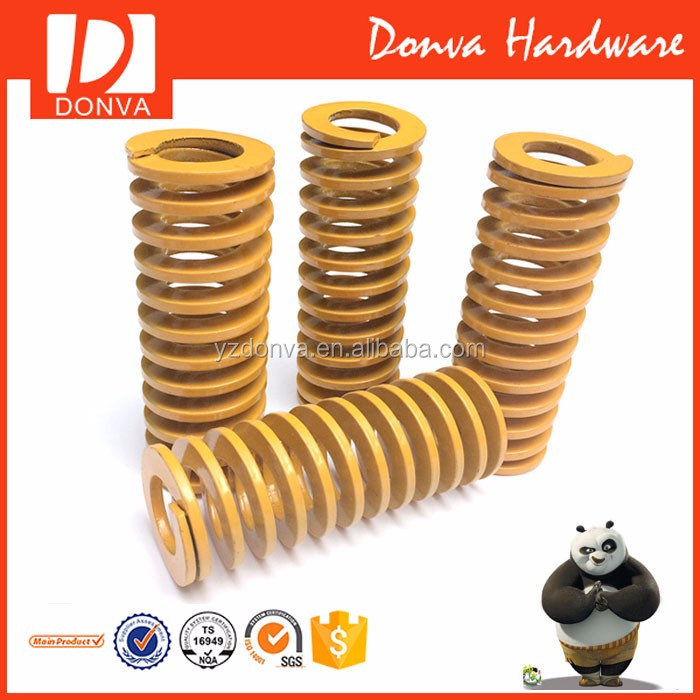 Mould spring retractable coil spring