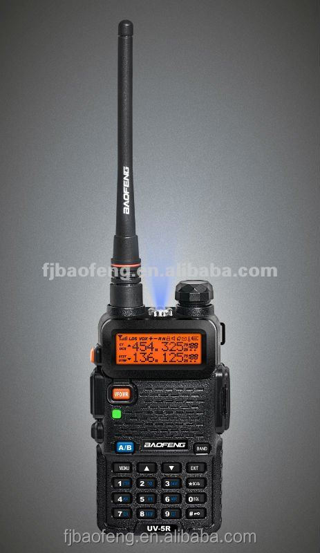 Baofeng UV-5R tri-band 8W handheld trasceiver PC programming