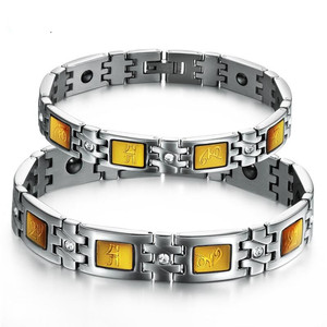 2015 Famous Brand Jewelry Radiation-Resistant Magnetized Health Care Bracelet Magnetic Bracelet GS3366