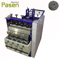 Cleaning ball making machine / kitchen scourer sponge making machine