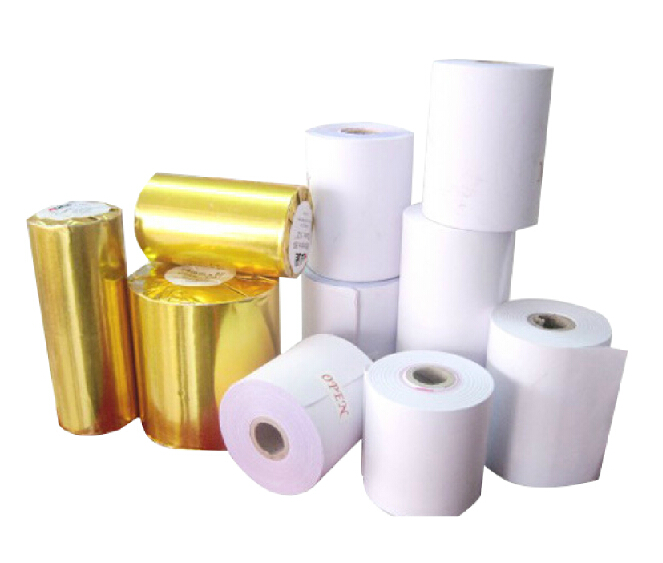 Cheap price cash register paper 57*50 mm printed thermal pos paper receipt paper rolls
